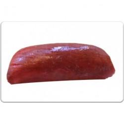 Carpaccio van wildzwijn gerookt en gesneden