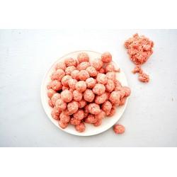 Vleesballetjes doorsnede ongev. 1,5cm